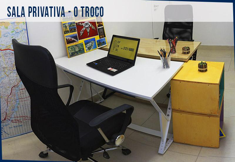 Coworking Curitiba - O Penal - Sala Privativa - O Troco 09