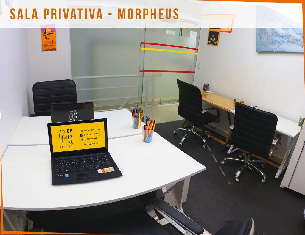 Coworking Curitiba - O Penal - Sala Privativa - Morpheus 1