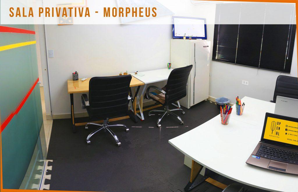 Coworking Curitiba - O Penal - Sala Privativa - Morpheus 2