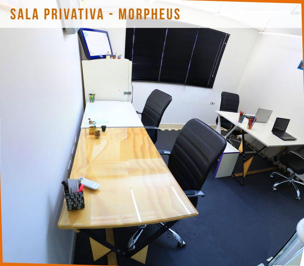 Coworking Curitiba - O Penal - Sala Privativa - Morpheus 3